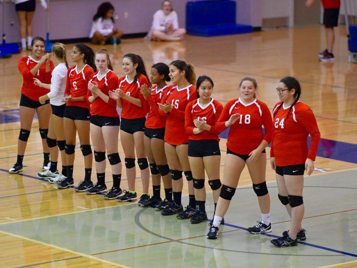 2017 Annandale HS Varsity Volleyball vs. Washington-Lee HS