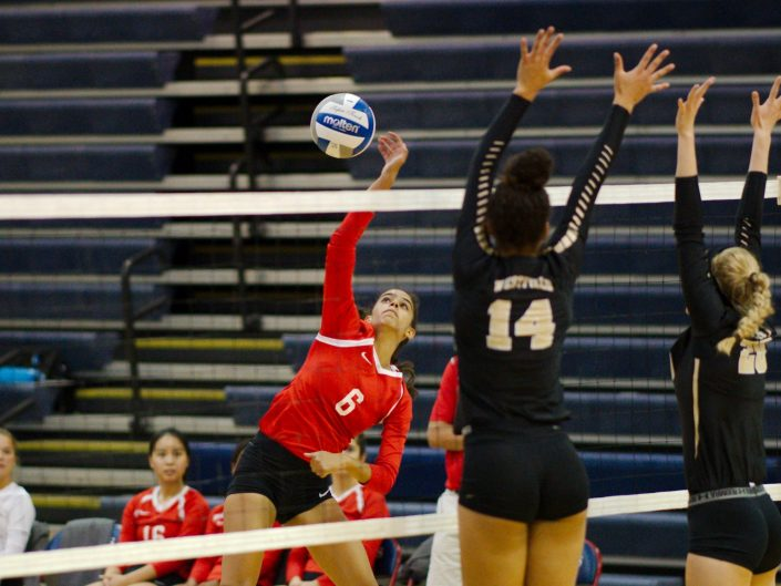 2017 Annandale HS Varsity Volleyball vs. Westfield HS