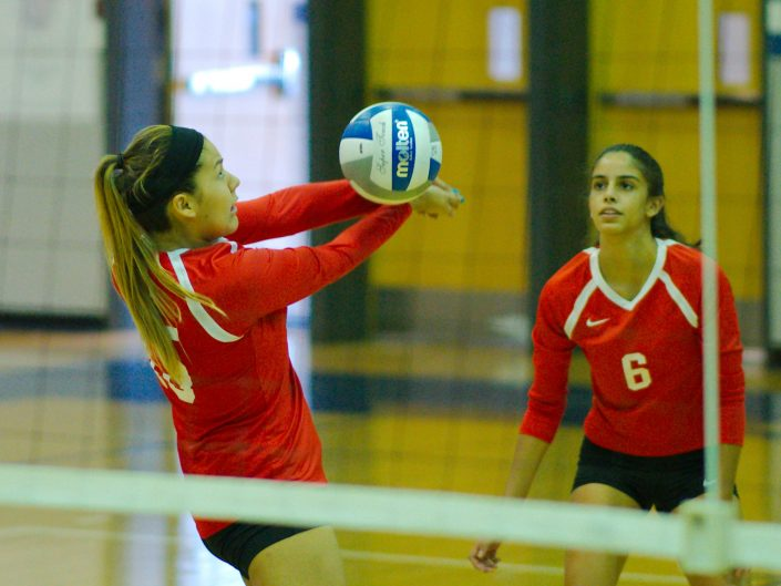 2017 Annandale HS Varsity Volleyball vs. Dominion HS