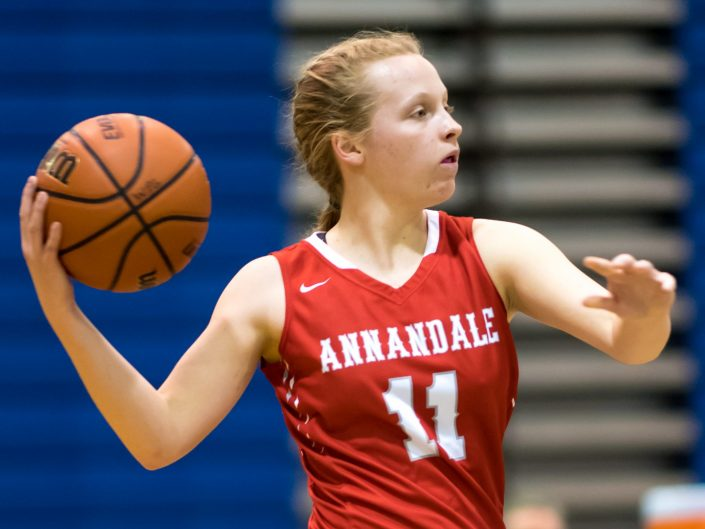 2018-02-06 Annandale HS Girls Varsity Basketball vs. West Potomac HS
